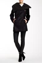 Sam Edelman Faux Shearling Clip Coat