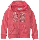 Roxy Girls' Fleece Zip Front Hoodie (27) - 8120478