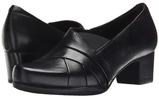 Clarks Rosalyn Adele (Black Leather) High Heels