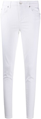 Liu Jo High-Waisted Tapered Trousers