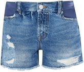 Topshop MATERNITY Ripped Ashley Shorts