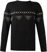 Laneus embellished jumper