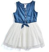 GUESS Factory Andi Two-Fer Dress (2-6x)