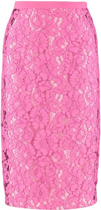 N°21 N.21 Lace Pencil Skirt