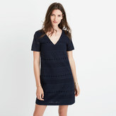 Madewell Embroidered Eyelet Tunic Dress