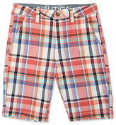Nautica Little Boys' Plaid Short (2T-7)