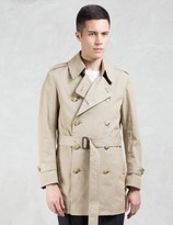 VALLIS BY FACTOTUM Drop Shoulder Trench Coat