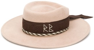Ruslan Baginskiy embellished fedora hat