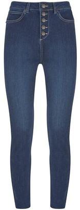 Mint Velvet Joilet Indigo Button Fly Jeans