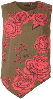 OSKLEN Floral Print Tank Top