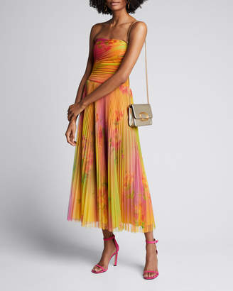 Ralph Lauren Eloise Strapless Plisse Dress