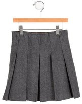 Jacadi Girls' Pleated Wool-Blend Skirt