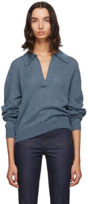 KHAITE Blue Jo Sweater