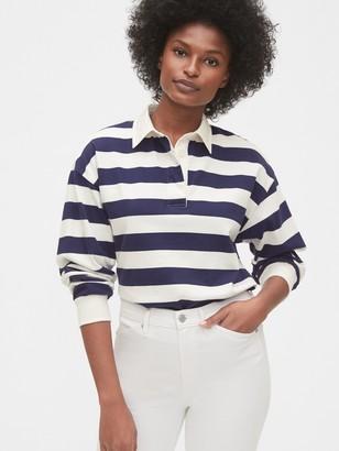 Gap Long Sleeve Rugby Polo Shirt