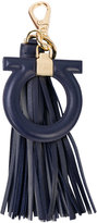 Salvatore Ferragamo Gancio tassel bag charm - women - Calf Leather - One Size