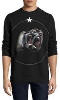 Givenchy Monkey Print Crewneck Sweatshirt