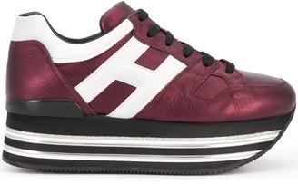 Hogan Low-Top Platform Sneakers