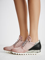 Free People Stanley Woven Trainer