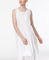 Eileen Fisher Linen Wrap Top, Regular & Petite