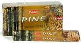 Tridev Pine Incense Sticks 120 Grams Full Box