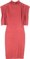 Scarlet jersey dress