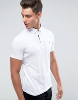 Ted Baker Concealed Placket Polo