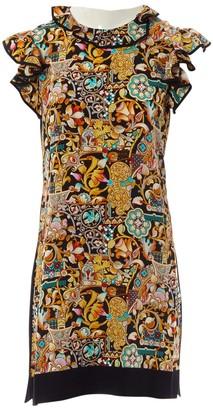 Louis Vuitton Brown Wool Dresses