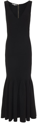 Stella McCartney Fluted Stretch-knit Midi Dress
