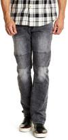 "Buffalo David Bitton Ash Skinny Moto Jeans - 32\"" Inseam"