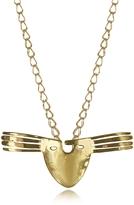 Aurelie Bidermann 18K gold-plated Brass Melina Long Necklace