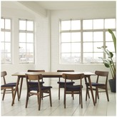 Vince 6 seater dining set with table and 6 chairs