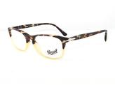 Persol Tortoise & Yellow Square Eyeglasses