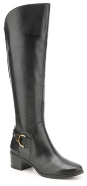 Anne Klein Jamee Wide Calf Riding Boot