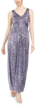 Night Way Nightway Petite Sequinned Gown