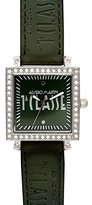 Alviero Martini Prima Classe Women's PCD 929S/ZZ Square Green Dial Crystal Watch