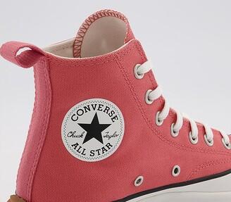 Converse Runstar Hike Trainers Terracotta Pink Vintage White Gum