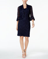 R & M Richards Petite Lace Sheath Dress and Jacket