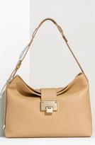 Jimmy Choo 'Small Rachel' Grainy Calfskin Leather Shoulder Bag