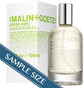 Malin+Goetz Malin + Goetz Sample - Citron Vert EDT by Malin + Goetz (0.7ml Fragrance)