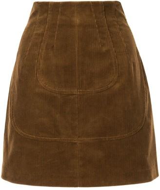 No.21 Corduroy Mini Skirt