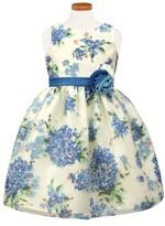 Sorbet Girl's Hydrangea Burnout Dress