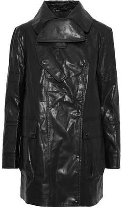 Belstaff Lena Coated Wool-blend Coat