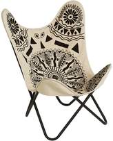 Amalfi by Rangoni Natural Tribal Trend Maray Butterfly Chair