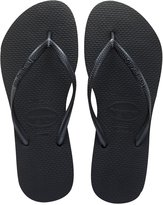 Havaianas Slim Sandal Flip Flop (Women) - Black - 7/8 M US