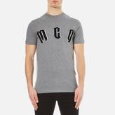 Mcq Alexander Mcqueen Short Sleeve Crew Neck Mcq Tshirt - Statue Melange