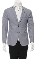 Fendi Houndstooth Two-Button Blazer