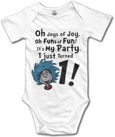ADAB Infant It's My 1st Birthday Party Gift Cute Baby Onesie Bodysuit