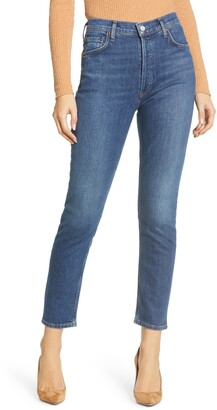 AGOLDE Nico High Waist Slim Fit Jeans