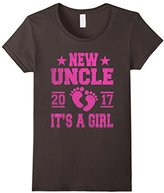 Men's New Uncle 2017 Tshirt Its a Girl Large