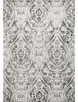 "Nicole Miller Sofia Transitional Ivor/Gray Indoor/Outdoor Area Rug Rug Size: Rectangle 7'9"" x 10'2"""